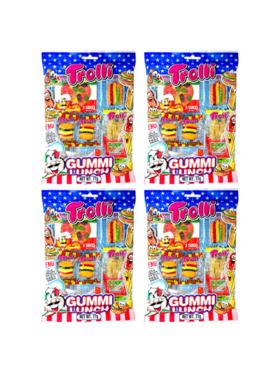 Trolli Gummy Lunch 77g (4-Pack)
