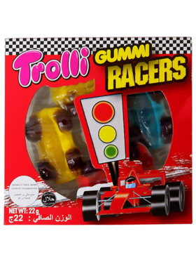 Trolli Gummy Racers 22g (15-Pack)
