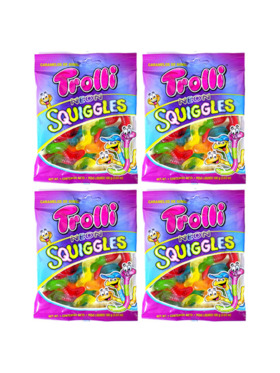 Trolli Neon Squiggles 100g (4-Pack)