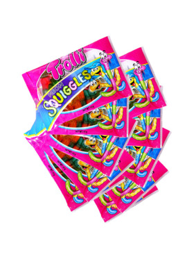 Trolli Neon Squiggles 45g (10-Pack)