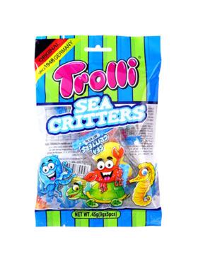 Trolli Sea Critters 45g (8-Pack)
