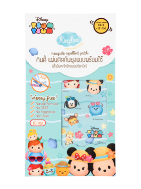 Kindee Mosquito Repellent Tsum Tsum Patch