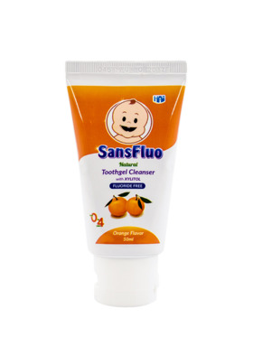 SansFluo Natural Orange Toothgel Cleanser