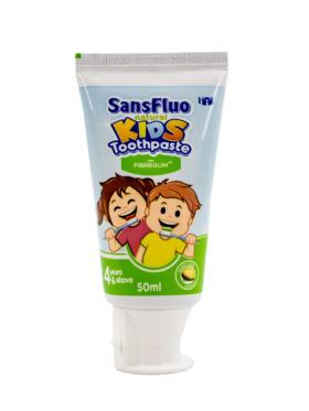 SansFluo Natural Kids Honey Dew Vanilla Toothpaste