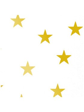 Baboo Basix Twinkle Star Peel and Stick DIY Wall Decals