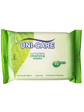 Uni-care Complete Cleansing Wipes (15s)