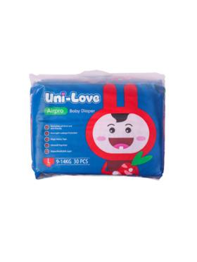 Uni-love Airpro Baby Diaper Large (30pcs)