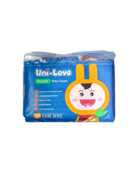 Uni-love Airpro Baby Diaper Newborn (30pcs)