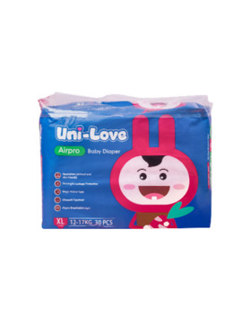 Uni-love Airpro Baby Diaper Extra Large (30pcs)
