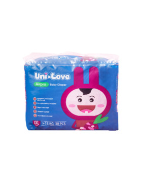 Uni-love Airpro Baby Diaper XXL (30pcs)
