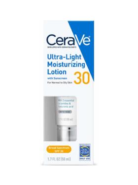CeraVe Ultra Light Moisturizing Lotion SPF30 (50mL)