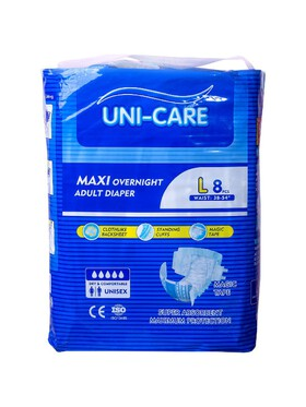 Uni-care Maxi Overnight Adult Diaper Large (8pcs)
