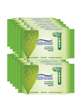 Uni-care Complete Cleansing Wipes 32's (10-Pack)