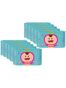 Uni-love Unscented Baby Wipes 32's (10-Pack)