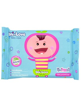 Uni-love Unscented Baby Wipes (11s)
