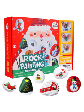 Joan Miro Rock Painting Christmas Kit