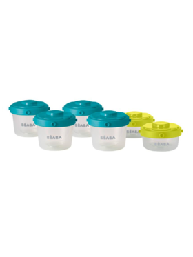 Beaba Clip Portions 1st Age (Set of 6)