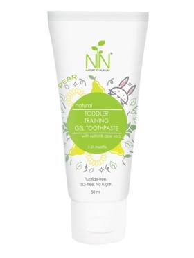 Nature to Nurture Toddler Training Gel Fluoride-free Toothpaste Pear (50ml)