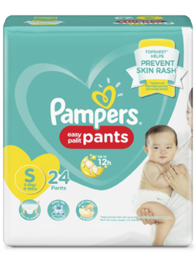Pampers Baby Dry Pants Economy Small (24 pcs)