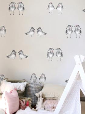 Urban Walls Birds and Bows Wall Decal