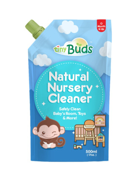 Tiny Buds Natural Nursery Cleaner Pouch (500ml)