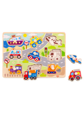 Tooky Toy Vehicle Puzzle