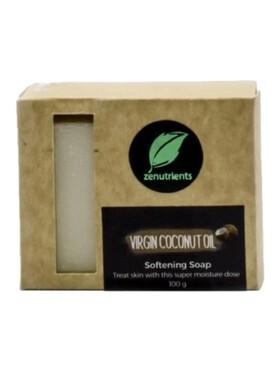 Zenutrients Virgin Coconut Oil Softening Soap (100g)