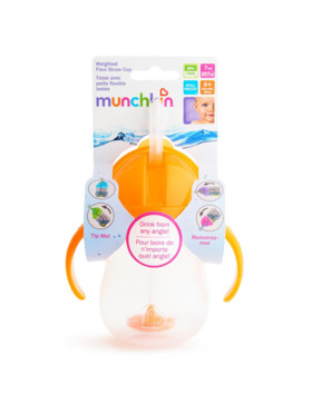 Munchkin Weighted Flexi Straw Cup (7oz)