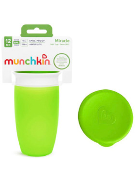 Munchkin Miracle® 360° Sippy with lid (10oz)