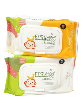 K-Mom First All Purposes Surface Wipes