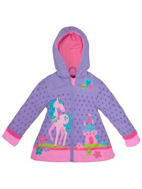 Stephen Joseph Rain Coat (Unicorn Violet)