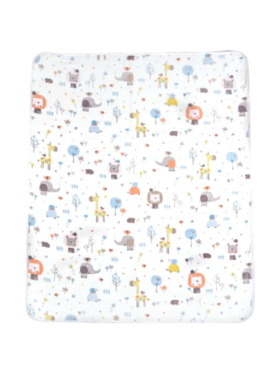 Knicknacks Safari Waterproof Bed Pad