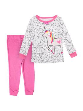 Little Steps Unicorn 2-Piece Long Sleeves PJs