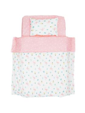 Little Tots PH Flamingo 3 in 1 Bedding Set