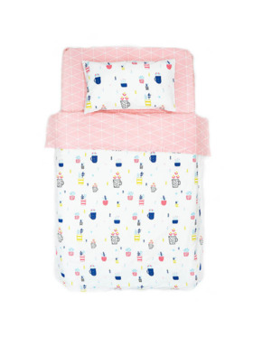 Little Tots PH Plants and Cups 3 in 1 Bedding Set