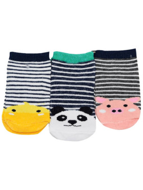 Enfant Baby Socks - Lowcut (3 Pairs)
