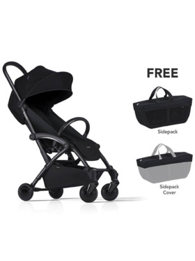 Bumprider Connect 2 Stroller Free Sidepack + Sidepack Cover