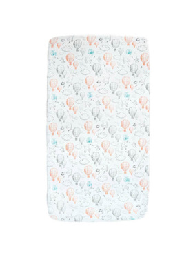 Little Tots PH Balloon Fitted Bed Sheet