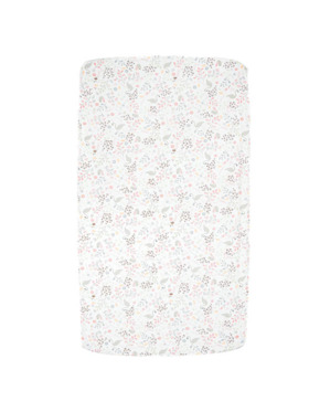 Little Tots PH Birds and Plants Fitted Bed Sheet