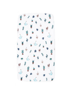 Little Tots PH Cactus Fitted Bed Sheet
