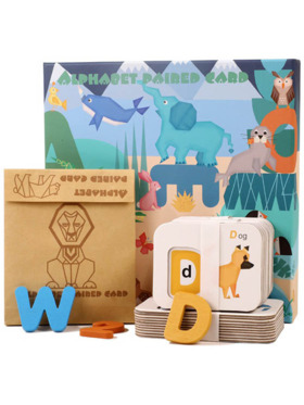Hungry Hippo PH Jungle Paired Alphabet and Numbers Card