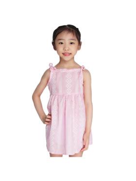 INSPI Kids Girls Dress All Over Prints Sleeveless Dress