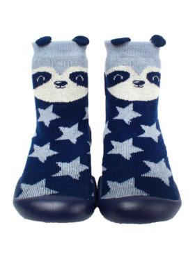 Little Steps Walking Shoes in Panda Stars
