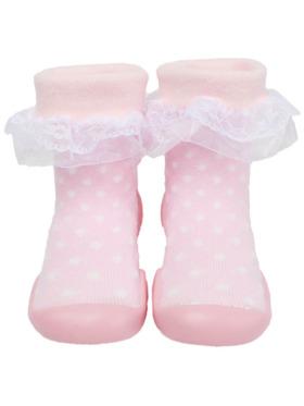 Little Steps Walking Shoes in Lace