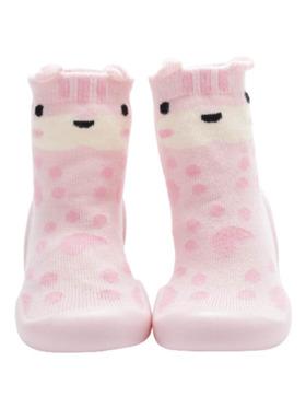Little Steps Walking Shoes in Llama