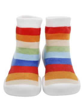 Little Steps Walking Shoes in Stripes