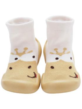 Little Steps Walking Shoes in Giraffe