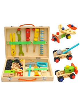 Hungry Hippo PH Wooden Toolbox