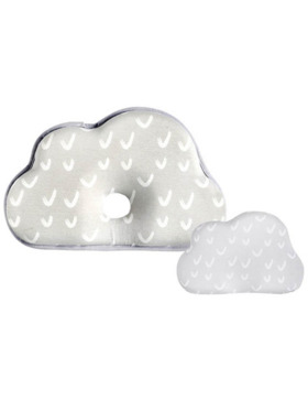 Olive and Cloud Dewfall Baby Head Shaping Pillow (With Extra Pillow Case)