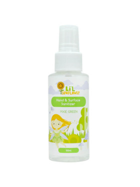 Lil Sunflower Hand & Surface Sanitizer Pixie Green (100ml)
